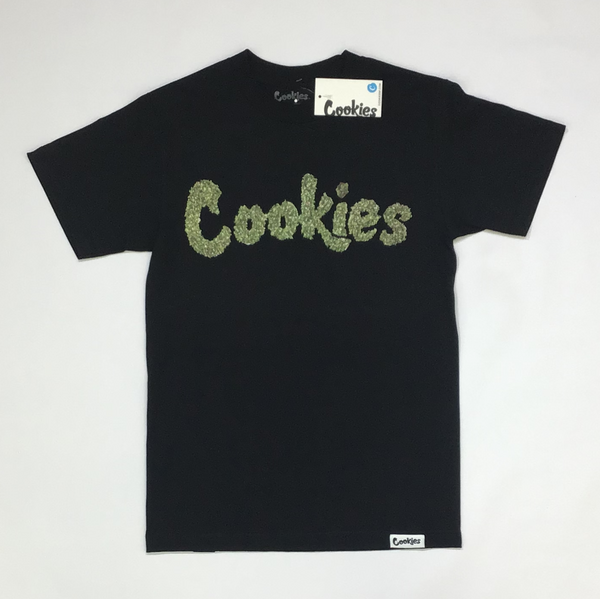 Sprinkle me thin mint tee (black)