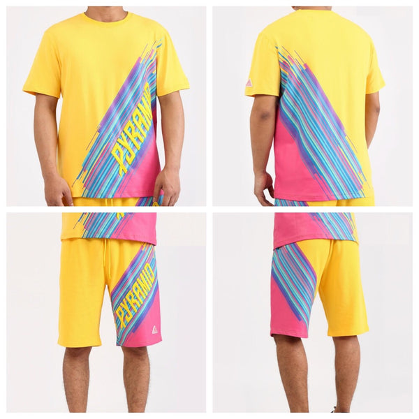 Geo blast short set (yellow)