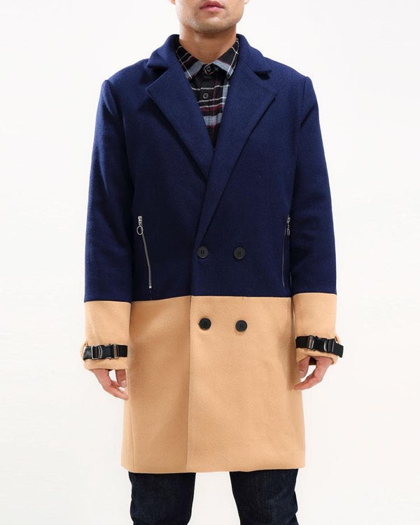HALF WAY THERE CAR COAT (Blue)
