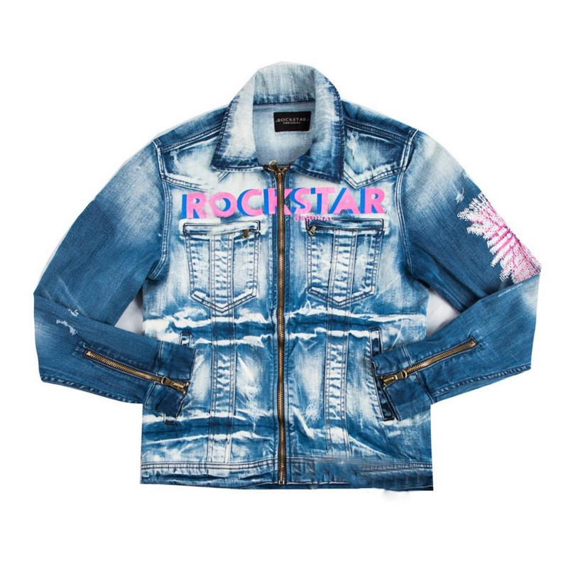 Laurence denim jacket (blue)