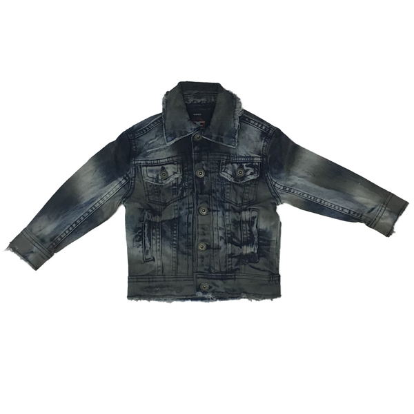Kids sedona denim jacket (Aged wash)
