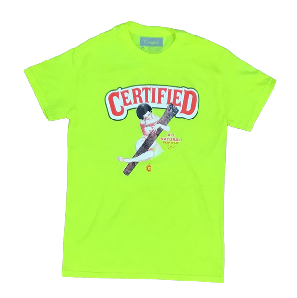 Certified lifestyle t-shirt (safety green)