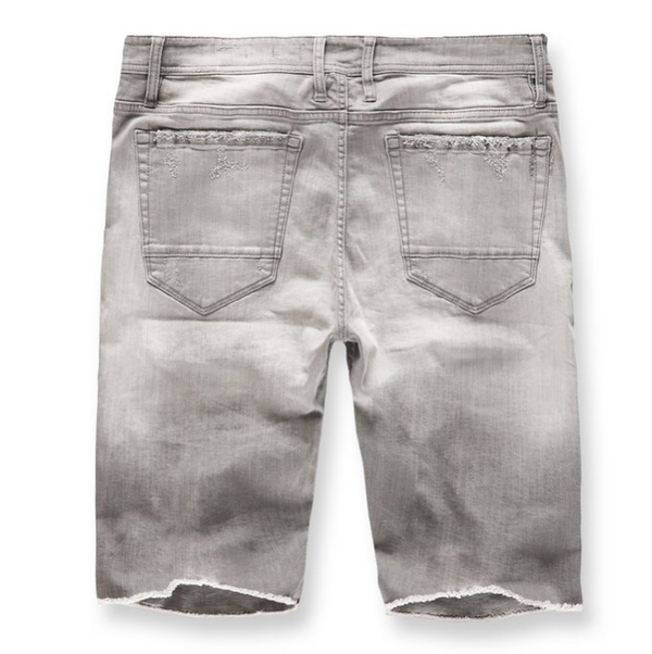 EDISON DENIM SHORTS (CEMENT WASH) J3145S
