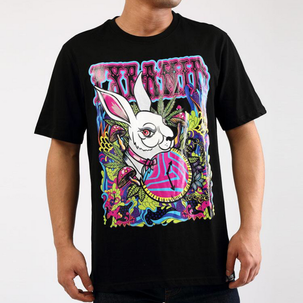 Hare shirt tee(Black)