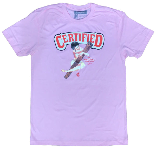 Certified lifestyle t-shirt (Pink)