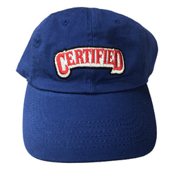 Certified lifestyle hat (Blue)