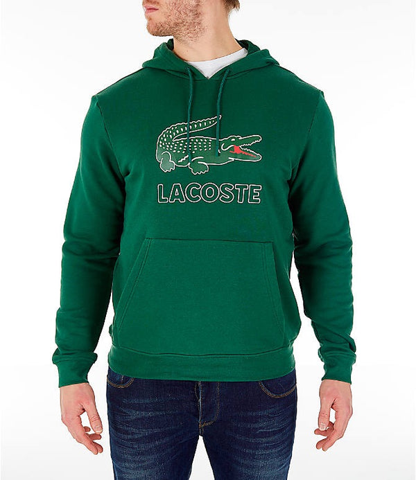Men's Hooded Fleece Sweatshirt (Green)