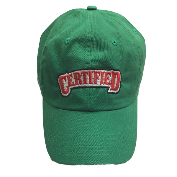 Certified lifestyle hat (deep spring green)