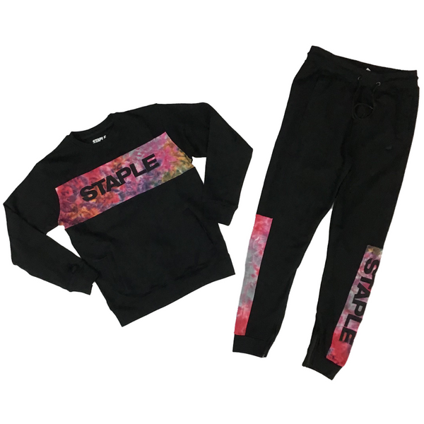 Supernova logo crew neck sweatsuit