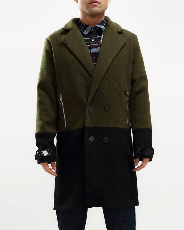 HALF WAY THERE CAR COAT (Green/black)