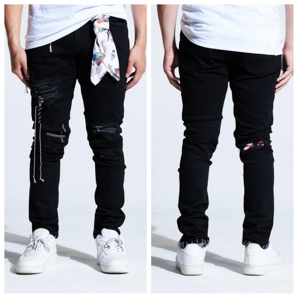 Lovell Patch Denim (Black)