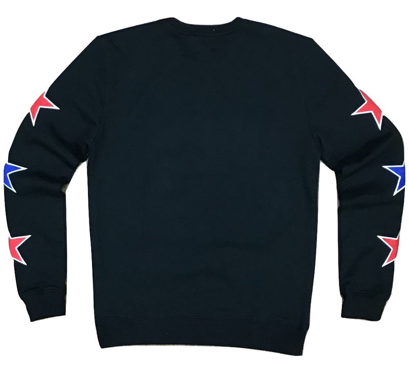 RichStar logo crew neck (black)