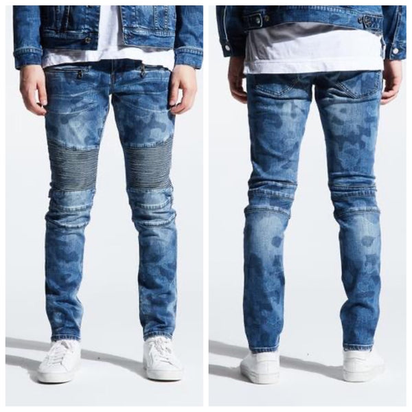 Mathewson biker denim