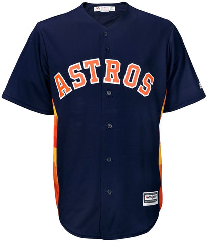 Majestic Navy Houston Astros Official Cool Base Alternate Jersey