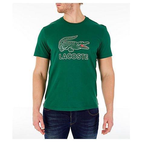 Men's Graphic Croc T-shirt (Green)