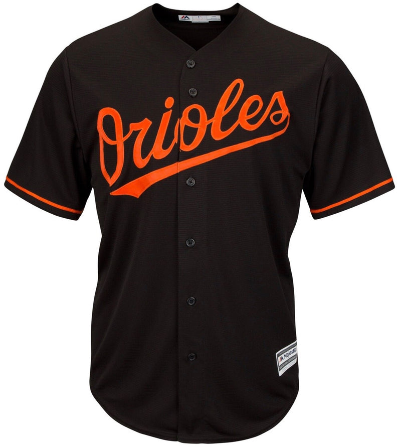 Majestic Black Baltimore Orioles Big & Tall Cool Base Team Jersey