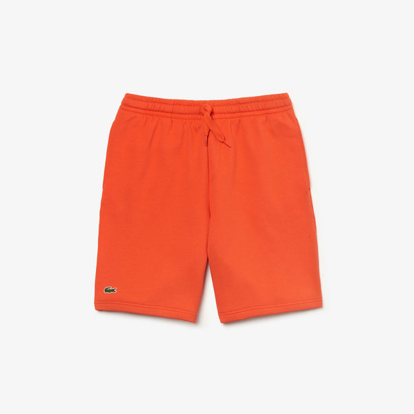 Men's SPORT Tennis Fleece Shorts (Orange)