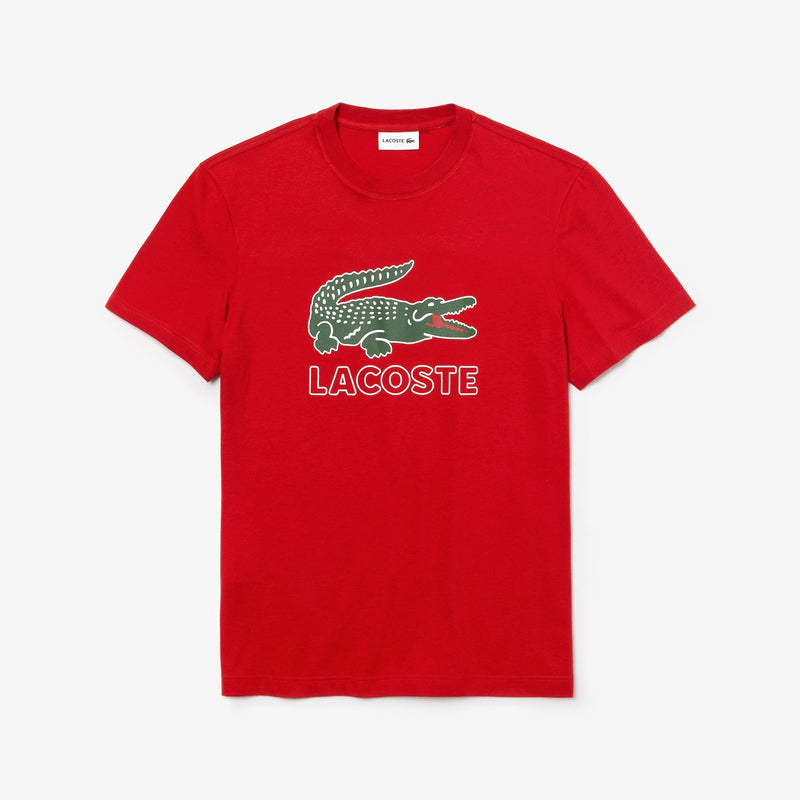 Men's Graphic Croc T-shirt (Red)