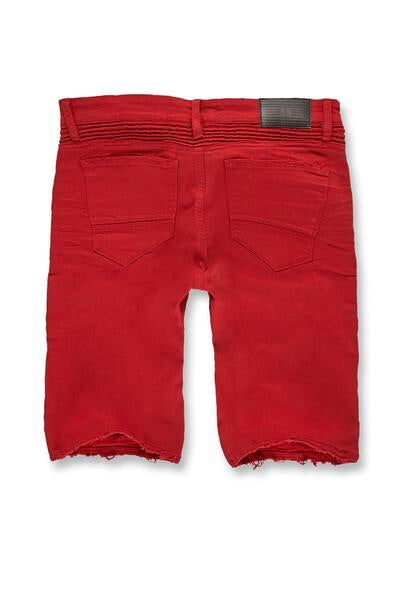 Savior biker shorts (red)