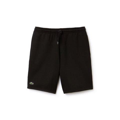 Men's SPORT Tennis Fleece Shorts (Black)