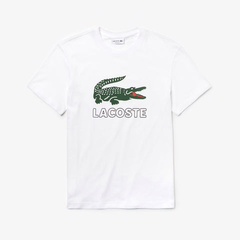 Men's Graphic Croc T-shirt (White)