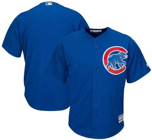 Majestic Royal Chicago Cubs Official Cool Base Jersey