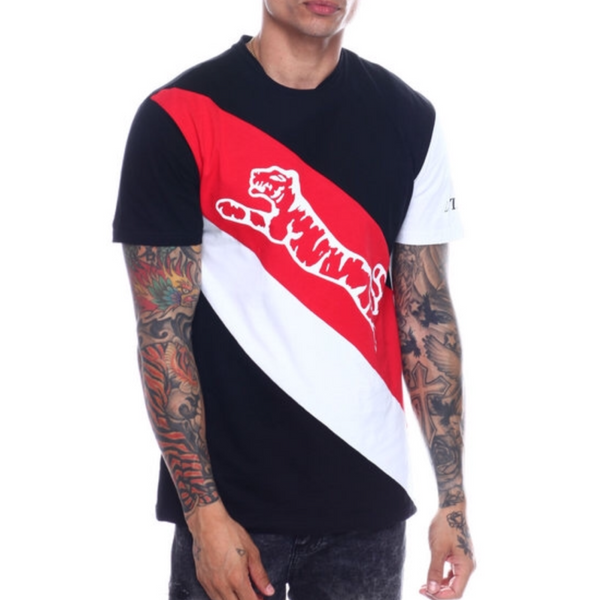 Lafayette T-shirt (black & Red)