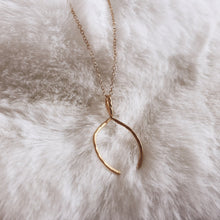 Load image into Gallery viewer, The Wishbone Necklace