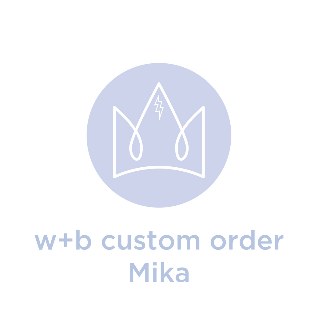Custom Necklace Order for Mika