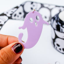 Load image into Gallery viewer, Acrylic Ghost Earrings | Style 2