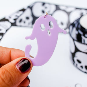 Acrylic Ghost Earrings | Style 2