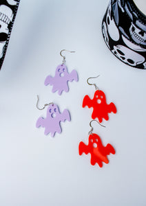 Acrylic Ghost Earrings | Style 1