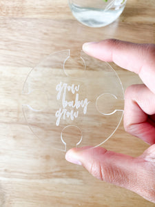 Open Hole Mason Jar Topper