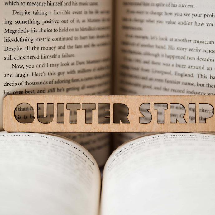 Quitter Strip Bookmark