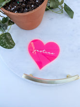 Load image into Gallery viewer, Heart Placecard | Galentine's Day Placecard