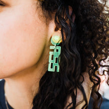 Load image into Gallery viewer, Acrylic 'Badass' Earring