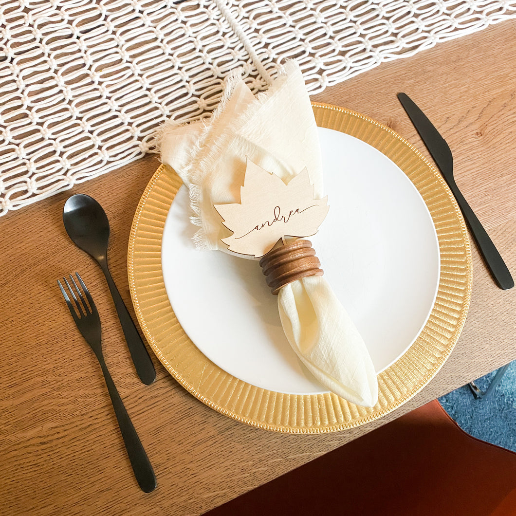 Tablescape in a Box - Charger Plate Add On