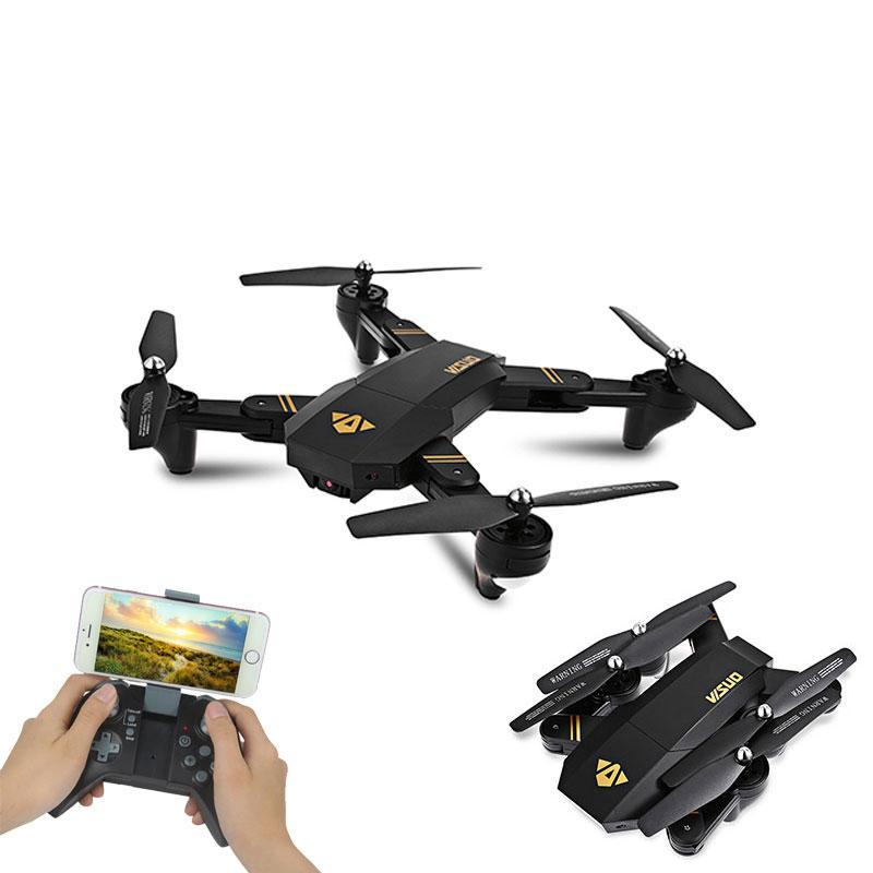 XS809HW Mini Foldable Selfie Drone with Wifi FPV