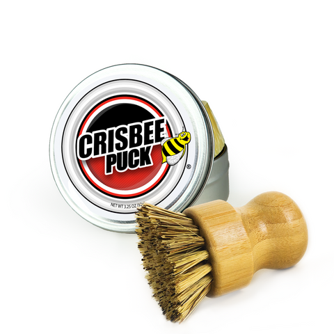 Crisbee Puck® & Brush