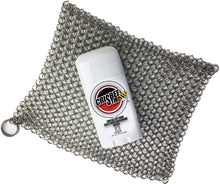 Load image into Gallery viewer, Cast Iron Cleaner Combo - Crisbee Stik® & Chain Mail Scrubber