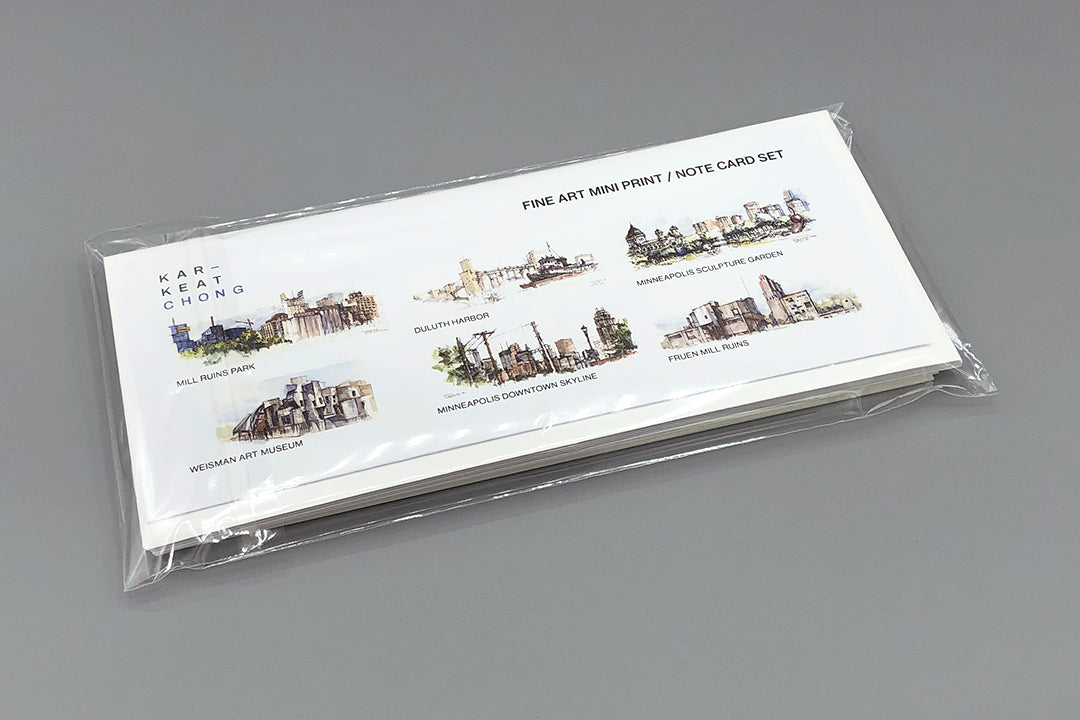 Six-Note Card Set No.1