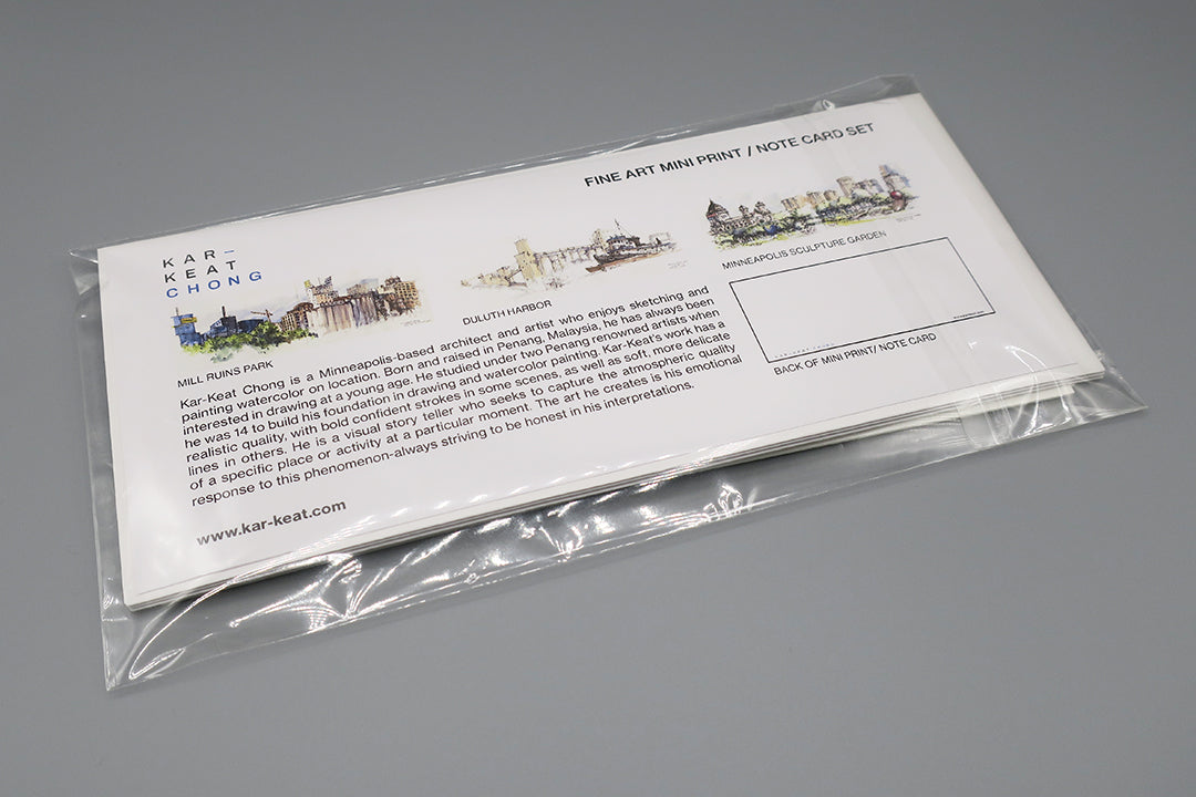 Three-Note Card Set No.1