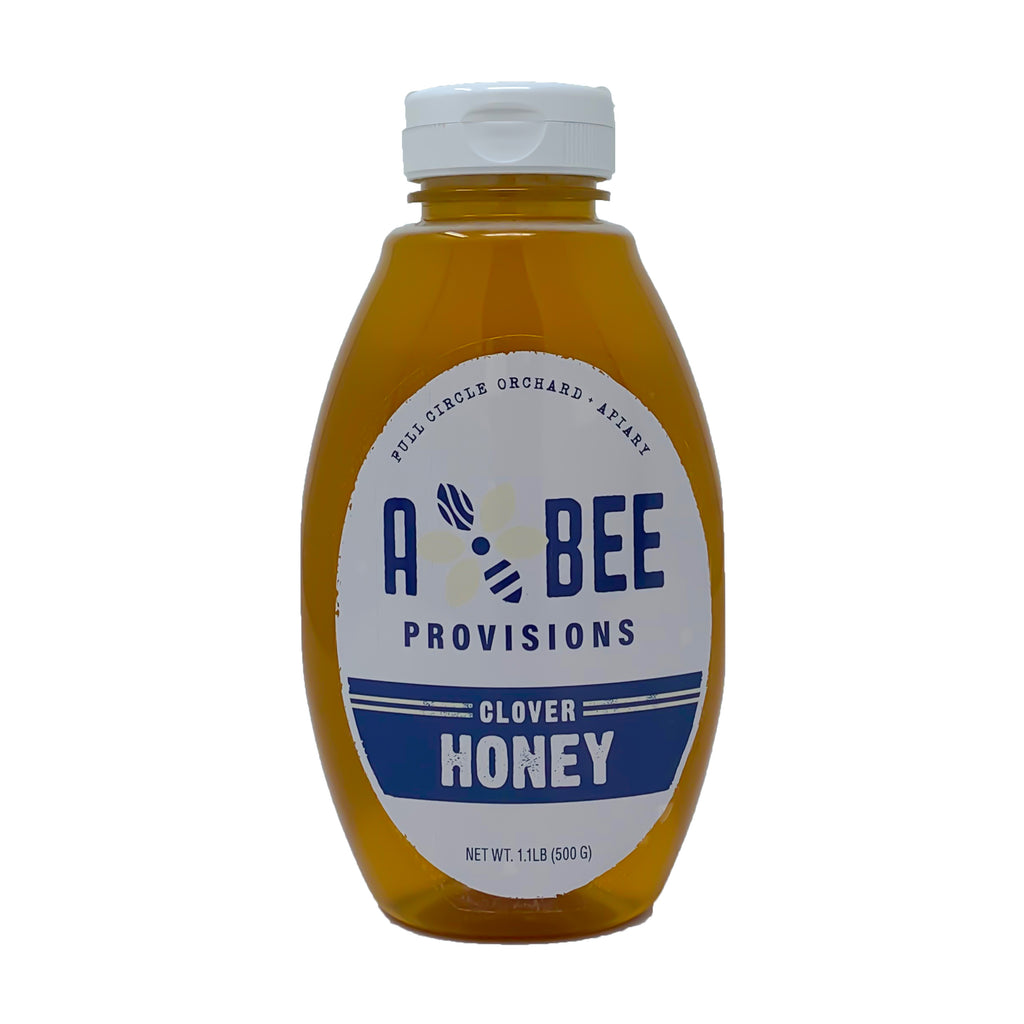 100% Pure Raw Clover Honey