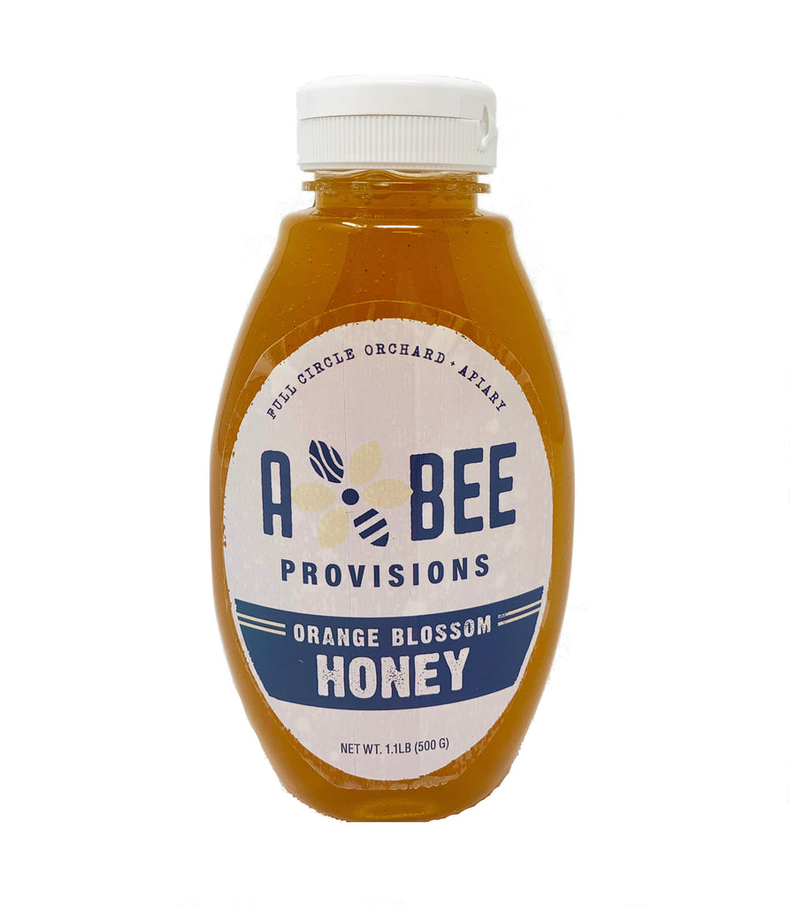 100% Pure Raw Orange Blossom Honey