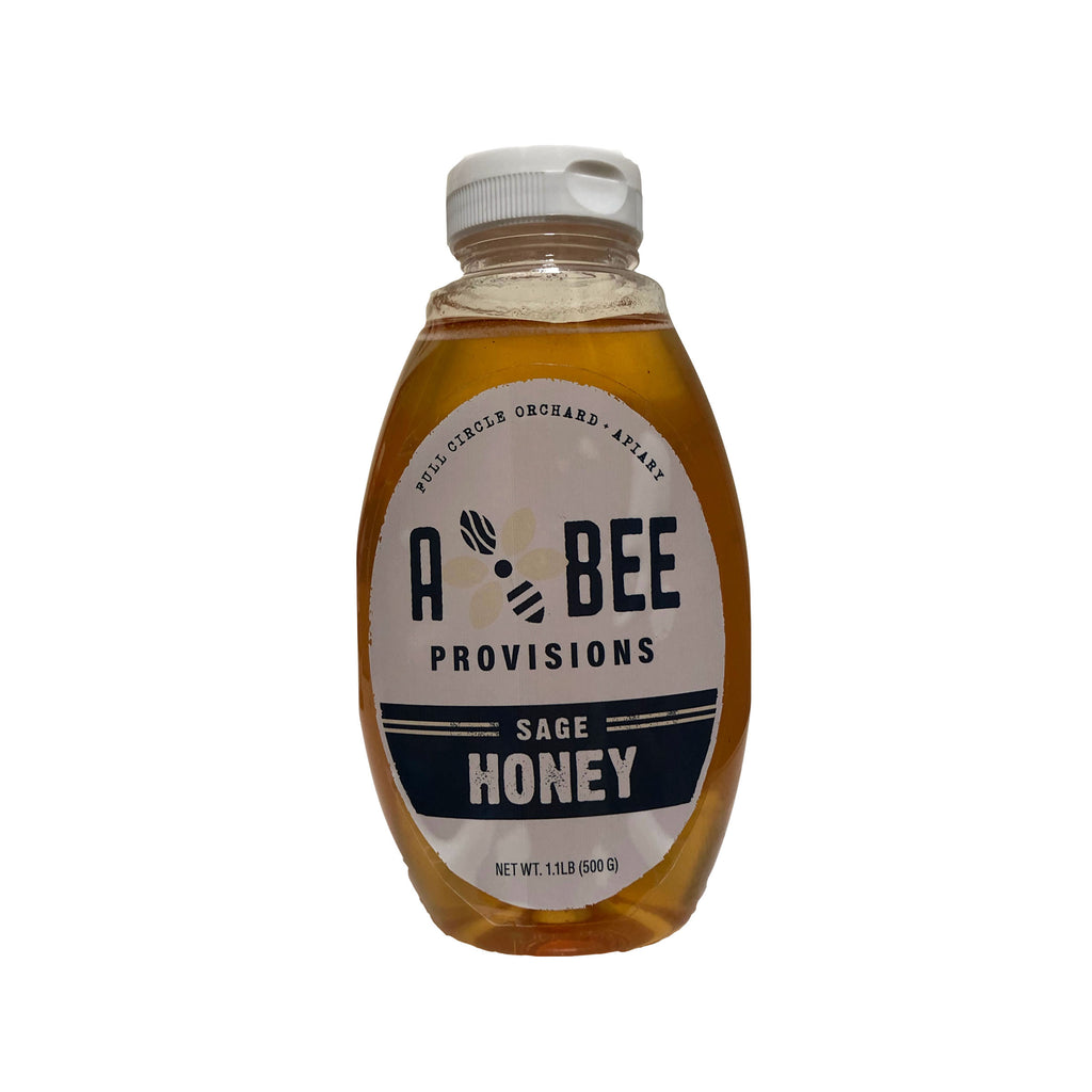 100% Pure Raw Sage Honey