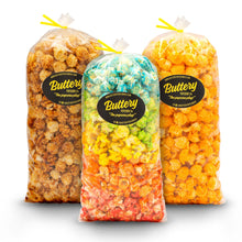Load image into Gallery viewer, 3-Pack 5oz Popcorn Gift Bags
