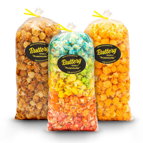 3-Pack 5oz Popcorn Gift Bags
