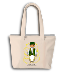 Tote bag - Algerian green outfit