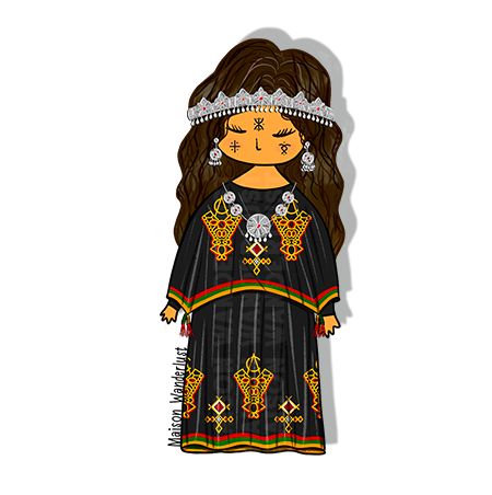Girl - Chaoui Traditional