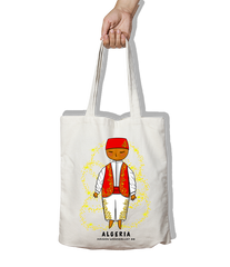 Tote bag - Red Algerian outfit